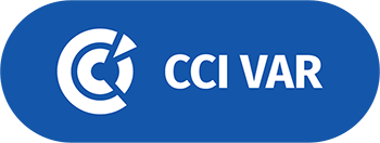 Logo of the Chambre de Commerce (CCI) et d'Industrie du Var the partner of Leitmotif