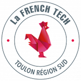Logo of the French Tech Toulon the partner of Leitmotif