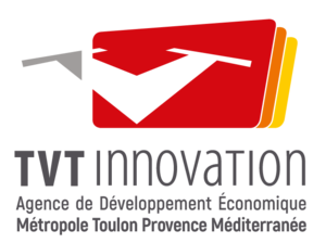 Logo of Toulon Var Technologies (TVT) the partner of Leitmotif